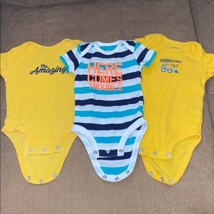 Carter's beautiful onesies